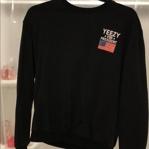 "Sweaters - ""Yeezy for President ""Sweater"